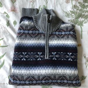 Patterned Tommy Hilfiger sweater